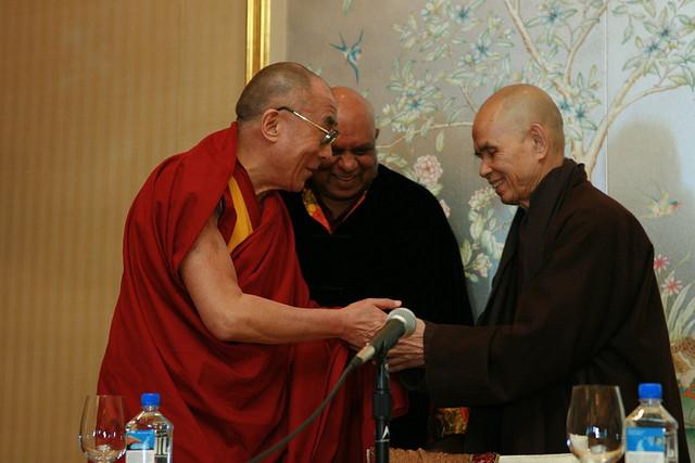 Dalai Lama y Thich Nhat Hanh