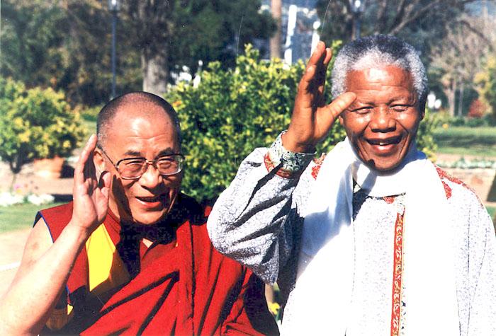 Dalai Lama - Nelson Mandela