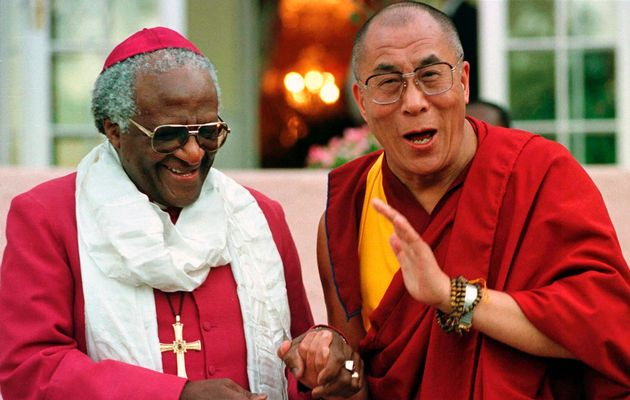 Dalai Lama - con Desmond Tutu