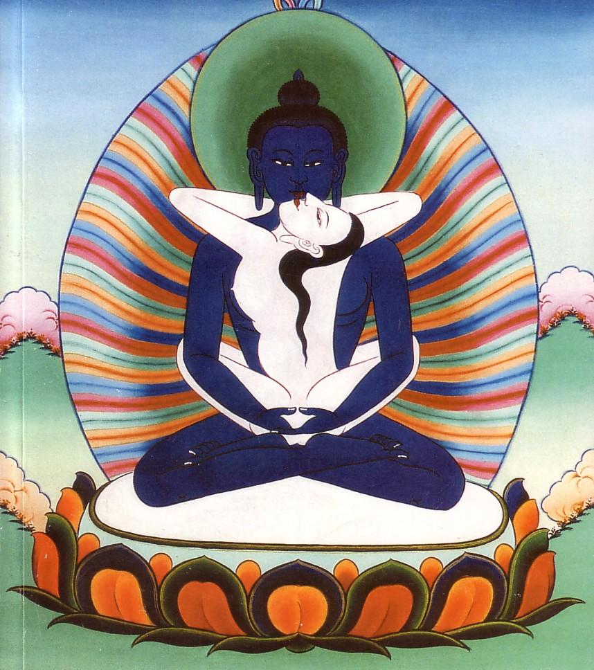 Buda Primordial Samantabhadra Yab Yum