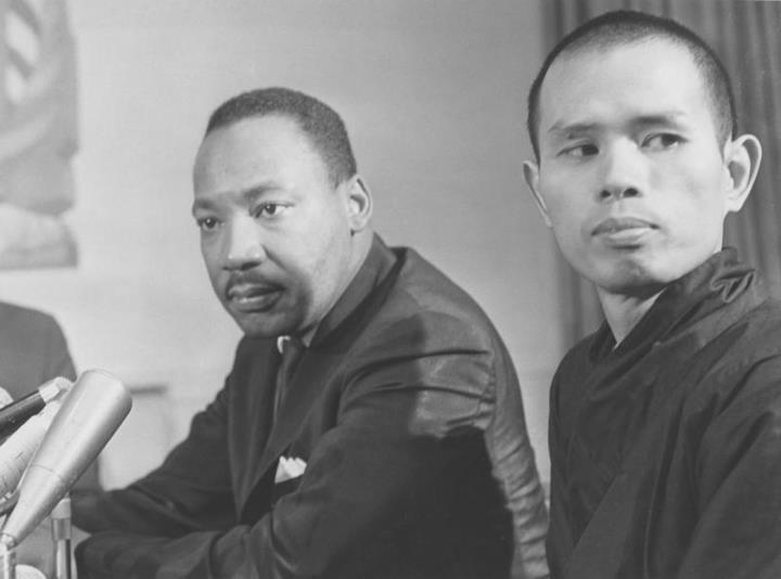 Thich Nhat Hanh con Martin Luther King