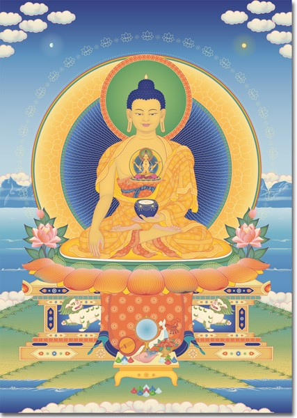 Buda Shakyamuni - Siddharta Gautama